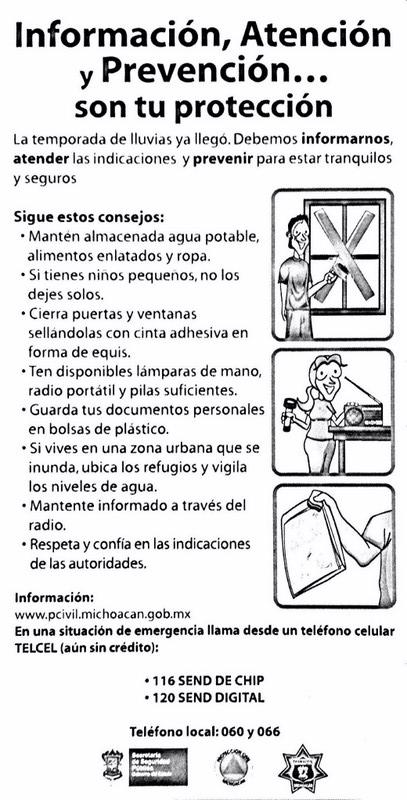 Información, atención y prevención Son tu protección 2